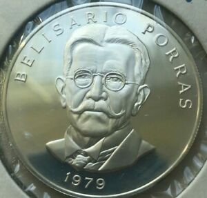 Click now to see the BUY IT NOW Price! 1979 PANAMA 5 BALBOAS   SILVER PROOF   5 949 MINTED