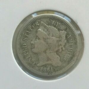 Click now to see the BUY IT NOW Price! 1865 NICKEL 3 CENT PIECE