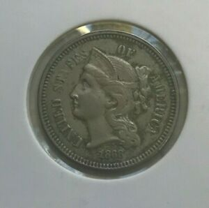 Click now to see the BUY IT NOW Price! 1868 NICKEL 3 CENT PIECE