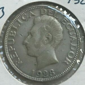 Click now to see the BUY IT NOW Price! 1928 ECUADOR 2 SUCRE   MINTED IN PHILADELPHIA