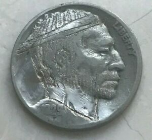 Click now to see the BUY IT NOW Price! 1929 BUFFALO NICKEL   HOBO NICKEL   UNSIGNED
