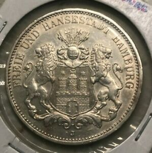 Click now to see the BUY IT NOW Price! 1912 J HAMBURG 3 MARK
