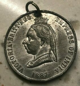 Click now to see the BUY IT NOW Price! 1887 GREAT BRITAIN QUEEN VICTORIA MEDAL   BIRMINGHAM LAW COURTS
