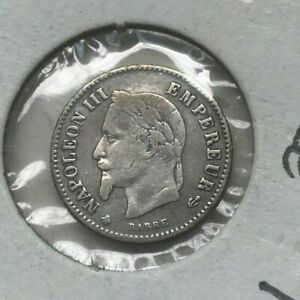 Click now to see the BUY IT NOW Price! 1867 A FRANCE 50 CENTIMES   SMALL SILVER