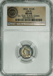 Click now to see the BUY IT NOW Price! 1832 NGC MS66 BUST HALF DIME A SUPER ORIGINAL REGISTRY QUALITY GEM SPECIMEN