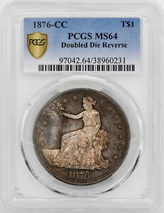 Click now to see the BUY IT NOW Price! 1876 CC TRADE T$1 PCGS MS 64