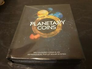 Click now to see the BUY IT NOW Price! 2017 PLANETARY FULL COIN SET PLANETS OF THE SOLAR SYSTEM POP UP BOOK NEW