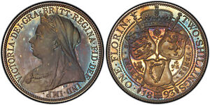 Click now to see the BUY IT NOW Price! GREAT BRITAIN VICTORIA 1893 AR FLORIN TWO SHILLINGS. PCGS PR66  SCBC 3939