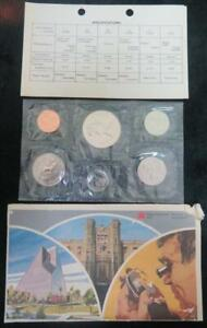 1979 CANADA UNCIRCULATED MINT SET  6 COIN SET  ROYAL CANADIAN MINT WITH COA