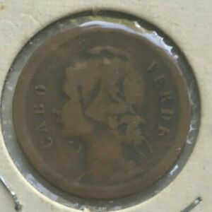 Click now to see the BUY IT NOW Price! 1930 CAPE VERDE CABO VERDE 10 CENTAVOS