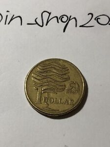 AUSTRALIA  $1.00 COIN 1993 LAND CARE AUSTRALIA B13
