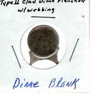 DIME BLANK WITH WEBBING