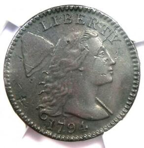 1794 LIBERTY CAP LARGE CENT 1C COIN S 70 HEAD OF 1795   CERTIFIED NGC AU DETAILS