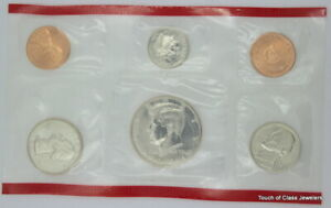 1991 P&D UNCIRCULATED MINT SET IN ORIGINAL GOVERNMENT PACKAGING WITH COA