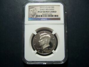 2012S PF69 NGC EARLY RELEASE KENNEDY PROOF