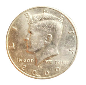 KENNEDY LIBERTY 2000 D CERTIFIED KENNEDY HALF DOLLAR COLLECTIBLE COIN