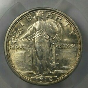 Click now to see the BUY IT NOW Price! 1916 STANDING LIBERTY 25C PCGS MS65 FH