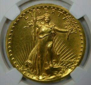 1907 $20 PROOF HIGH RELIEF NGC PF64
