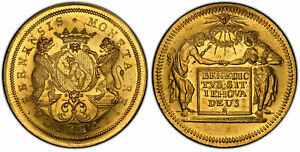 Click now to see the BUY IT NOW Price! SWISS CANTONS. BERN.  1700 10  AV 10 DUCAT. PCGS MS63PL FR. 147 LY