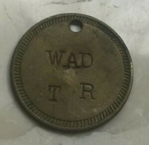 Click now to see the BUY IT NOW Price! MARYLAND PICKER TOKEN?   WAD TR STAMPED