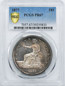 Click now to see the BUY IT NOW Price! 1877 TRADE T$1 PCGS PR 67