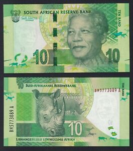 SOUTH AFRICA 10 RAND 2013  2016  FDS / UNC C 09