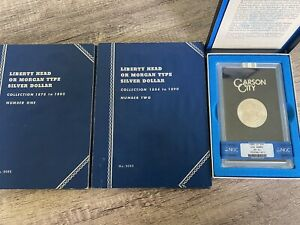 MORGAN SILVER DOLLAR COMPLETE 49 COIN SET. EVERY MINT 1878 TO 1890. MS62 1885 CC