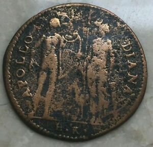 Click now to see the BUY IT NOW Price! ND  1560  FRANCE FRENCH TOKEN   APOLLO DIANA EX SC XV VIR MON FR