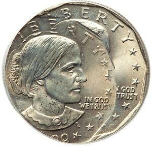 Click now to see the BUY IT NOW Price! ER095 MINT ERROR 1999 P $1 SUSAN B. ANTHONY DOLLAR    TRIPLE STRUCK PCGS MS66