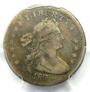 1803 DRAPED BUST HALF DIME H10C   CERTIFIED PCGS VF DETAILS    DATE COIN