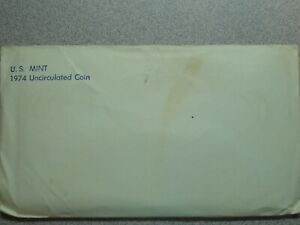 1974 P D S UNCIRCULATED US MINT SET WITH KENNEDY HALF 13 COINS  6565