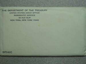1972 P D S UNCIRCULATED US MINT SET WITH KENNEDY HALF 11 COINS  6560