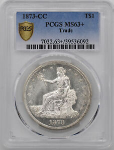 Click now to see the BUY IT NOW Price! 1873 CC TRADE T$1 PCGS MS 63