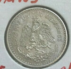 Click now to see the BUY IT NOW Price! 1911 MEXICO 10 CENTAVOS   SILVER CLEANED