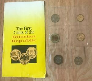 Click now to see the BUY IT NOW Price! 1992 RUSSIA UNCIRCULATED COIN MINT SET