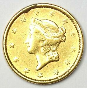 1852 LIBERTY GOLD DOLLAR G$1   AU DETAILS    EARLY COIN