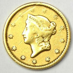 1851 LIBERTY GOLD DOLLAR G$1   XF DETAILS    EARLY GOLD COIN