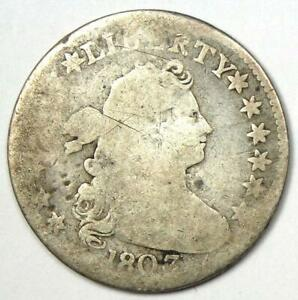 1803 DRAPED BUST DIME 10C   AG / GOOD DETAILS    DATE COIN