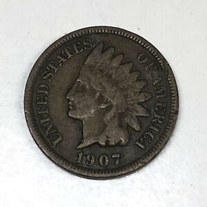 1907 P US 1 CENT COIN