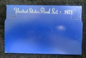 1971 PROOF SET   KENNEDY HALF DOLLAR   US MINT   5 COINS   GREAT GIFT