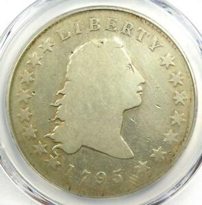 1795 FLOWING HAIR SILVER DOLLAR $1   CERTIFIED PCGS GOOD DETAILS    COIN