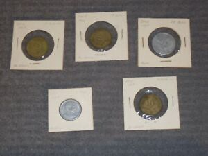 CHILEAN COINS TO COLLECT: CENTESIMOS AND PESOS FROM THE 1950'S AND 1960'S
