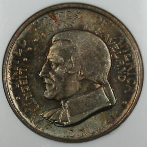 Click now to see the BUY IT NOW Price! 1936 CLEVELAND HALF DOLLAR NGC MS 66 TONED