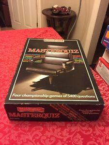 waddingtons masterquiz game