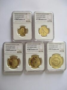 Click now to see the BUY IT NOW Price! 1970 RAS AL KHAIMA UNITED ARAB EMIRATES UAE ROMA GOLD COIN SET  NGC ULTRA CAMEO