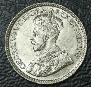 Click now to see the BUY IT NOW Price! OLD CANADIAN COIN 1931   10 CENTS   .800 SILVER   GEORGE V   GORGEOUS COIN