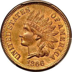 Click now to see the BUY IT NOW Price! 1866 1C INDIAN CENT SNOW 2 PCGS MS65RD  PHOTO SEAL