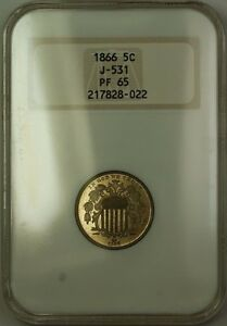 Click now to see the BUY IT NOW Price! 1866 SHIELD NICKEL PATTERN GEM PROOF 5C COIN NGC PF 65 J 531 JUDD WW
