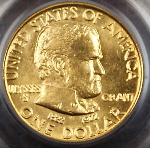 Click now to see the BUY IT NOW Price! 1922 GRANT GOLD $1 NO STAR PCGS MS 64  BETTER COIN