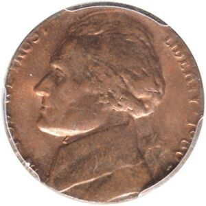 Click now to see the BUY IT NOW Price! 1980 P 5C JEFFERSON NICKEL ERROR STUCK ON CENT PCGS MS63